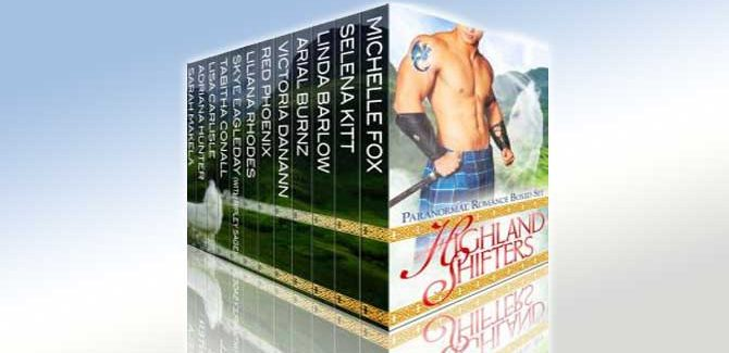 paranormal box set Highland Shifters Paranormal Romance Boxed Set