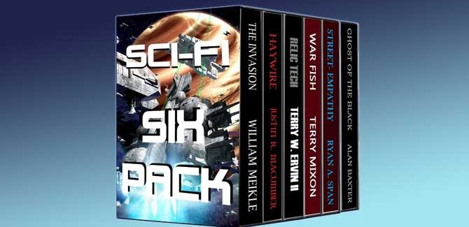 Sci-Fi Six-Pack: Six Thrilling Tales from Six Top-Notch Authors