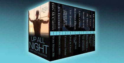 """new adult romance collection """"Up All Night: A New Adult Collection"""" by various authors"""