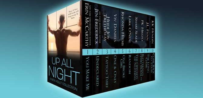 new adult romance collection Up All Night: A New Adult Collection by various authors