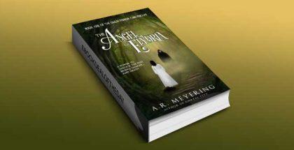 "steampunk fantasy ebook ""The Angel of Elydria (The Dawn Mirror Chronicles Book 1) by A. R. Meyering"