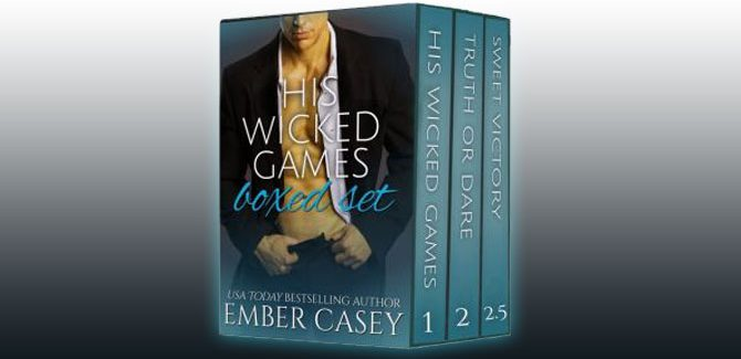 contemporary romance box set His Wicked Games Boxed Set by Ember Casey