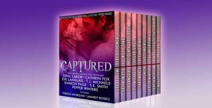 "romance box set ""CAPTURED: 9 Alpha Bad-Boys Who Will Capture Your Heart"
