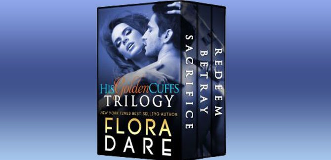 contemporary romance boxed set His Golden Cuffs: The Complete Trilogy by Flora Dare