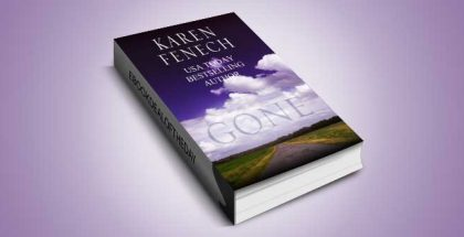 """romantic suspense for kindle """"Gone"""" by Karen Fenech"""