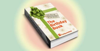 "howto & selfhelp ebook ""The Birthday Book: Funny, Wise, and Inspirational Quotes for Your Birthday"" by TheQuoteWell"