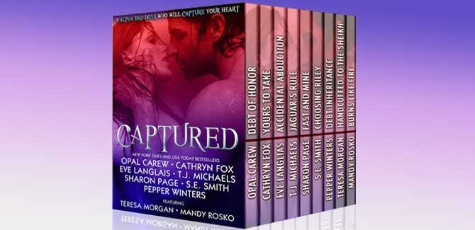 ontemporary & paranormal romance bundle Captured Boxed Set: 9 Alpha Bad-Boys Who Will Capture Your Heart