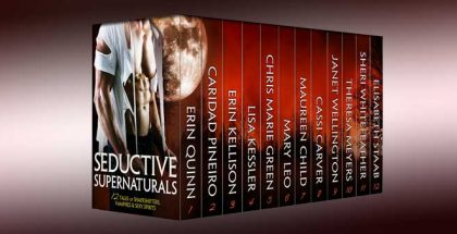 "paranormal erotic romance boxed set ""SEDUCTIVE SUPERNATURALS: 12 Tales of Shapeshifters, Vampires & Sexy Spirits"