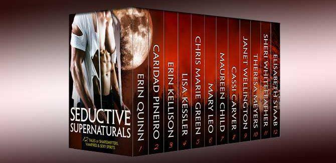paranormal erotic romance boxed set SEDUCTIVE SUPERNATURALS: 12 Tales of Shapeshifters, Vampires & Sexy Spirits
