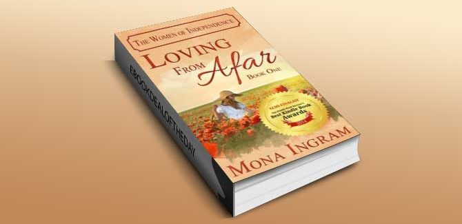 contemporary romance ebook Loving From Afar (The Women of Independence, #1) by Mona Ingram