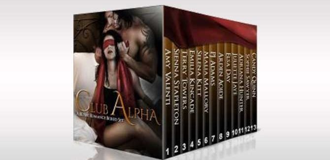 erotic romance boxed set  Club Alpha: BDSM Romance Boxed Set by Multiple Authors