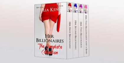 "contemporary romance boxed set ""Her Billionaires: Boxed Set"" by Julia Kent"