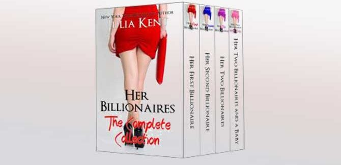 contemporary romance boxed set Her Billionaires: Boxed Set by Julia Kent