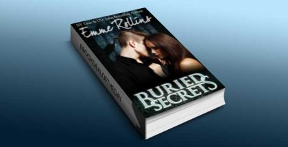 "paranormal romance ebook ""Buried Secrets (New Adult Dark Suspense Romance)"" by Emme Rollins"