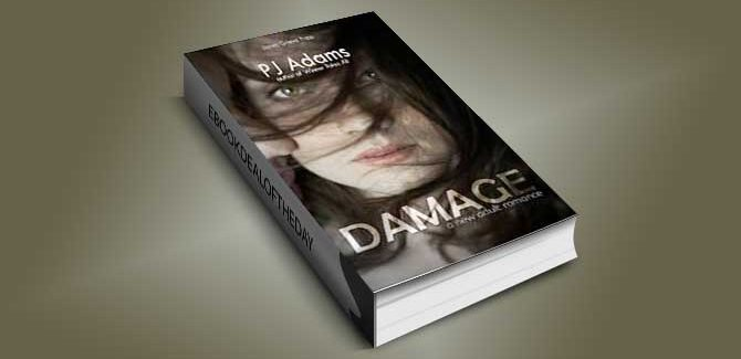 new adult contemporary romance ebook Damage: A New Adult romance by PJ Adams