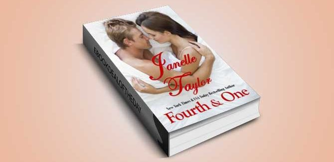 sports contemporary romance ebook Fourth & One by Janelle Taylor