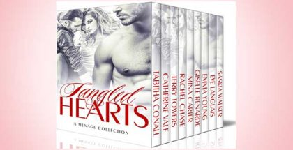 "paranormal erotica romance boxed set ""Tangled Hearts: A Menage Collection"" by Various Authors"