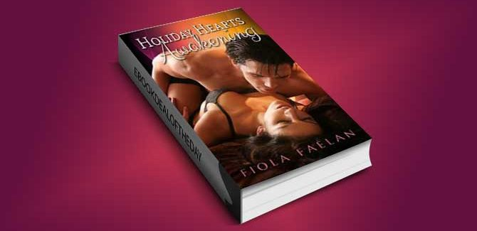 contemporary romance ebook Holiday Hearts Awakening by Fiola Faelan