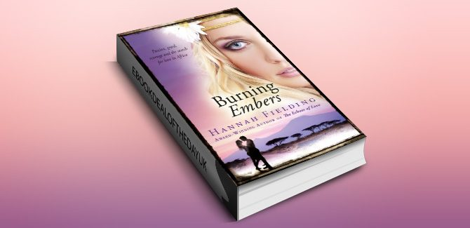 contemporary romance ebook Burning Embers by Hannah Fielding