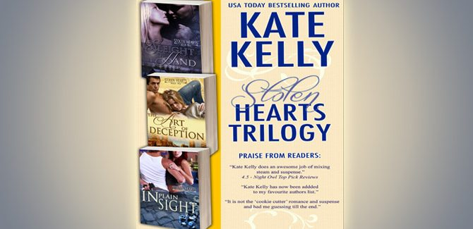 romance boxed set Stolen HeartsTrilogy: Box Set by Kate Kelly