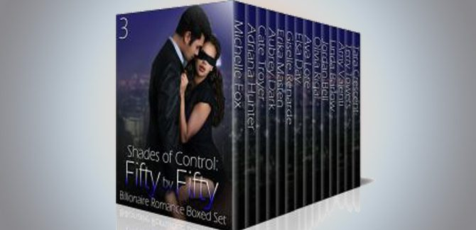 romance boxed set Shades of Control: Fifty by Fifty #3: A Billionaire Romance Boxed Set by Mulitiple Authors