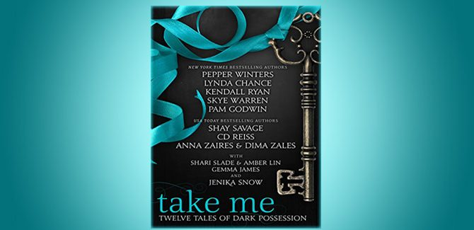 romance boxed set ebook Take Me: Twelve Tales of Dark Possession by Multiple Authors