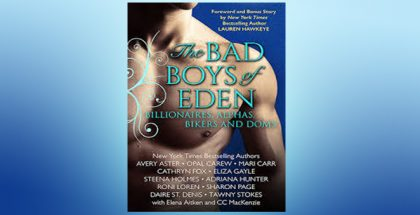 "contemporary alpha romance boxed set ""THE BAD BOYS OF EDEN"""