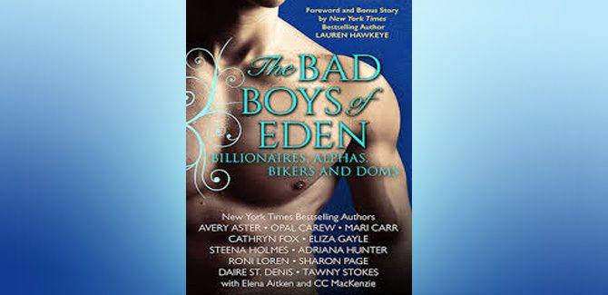 contemporary alpha romance boxed set THE BAD BOYS OF EDEN