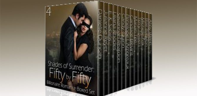 an alpha billionaire romance boxed set Shades of Surrender: Fifty by Fifty #4: A Billionaire Romance Boxed Set by Multiple Authors