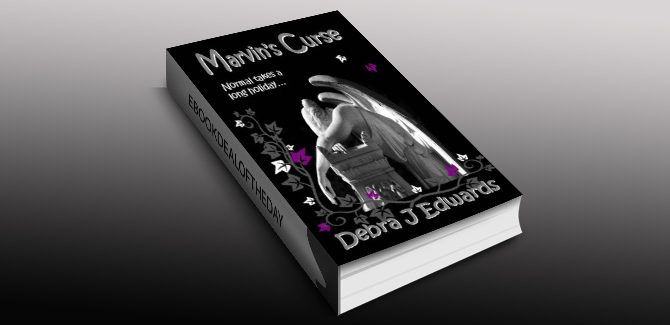 YA paranormal ebook Marvin's Curse by Debra J Edwards