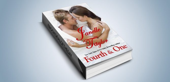 contemporary football romance ebook Fourth & One by Janelle Taylor