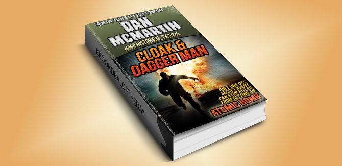 thriller action & adventure ebook Cloak & Dagger Man by Dan McMartin