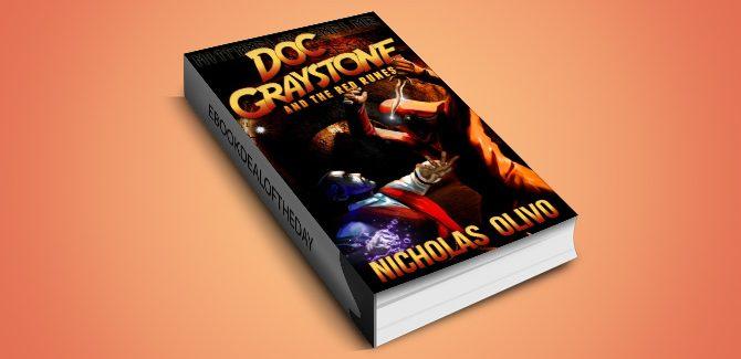 paranormal noir ebook Red Runes (Doc Graystone Adventures Book 1) by Nicholas Olivo