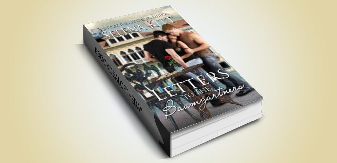 LGBT menage romance ebook Letters to the Baumgartners by Selena Kitt