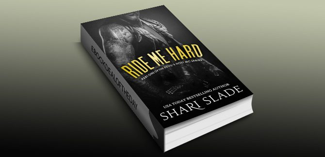 na erotica romantic suspense ebook Ride Me Hard: A Biker Romance Serial by Shari Slade