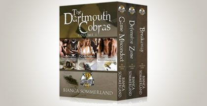 "menage sports romance ebooks ""The Dartmouth Cobras Box Set Vol.1"" by Bianca"