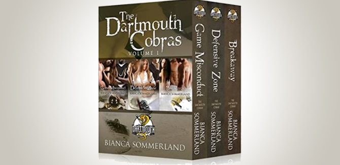 menage sports romance ebooks The Dartmouth Cobras Box Set Vol.1 by Bianca