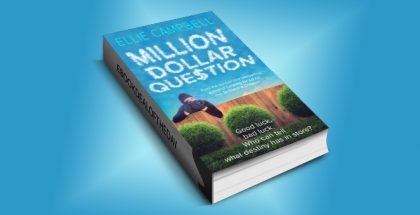 "chicklit women's fiction kindle ""Million Dollar Question"" by Ellie Campbell"