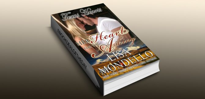contemporary romance ebook Her Heart for the Asking, a Western Romance (Texas Hearts Book 1) by Lisa Mondello