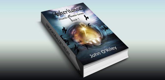 urban fantasy ebook Inheritance (Wizards of Seattle Book 1) by John O'Riley