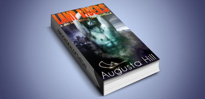 urban paranormal fantasy ebook Lamp Riders: A Jinn Motorcycle Gang Novella by Augusta Hill