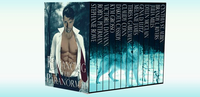paranormal romance boxed set Romancing The Paranormal: All New Tales by Various Authors
