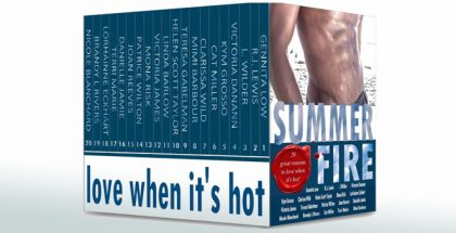 "anthology contemporary romance ebooks ""Summer Fire: Love When It's Hot"" by Victoria Danann, etc"
