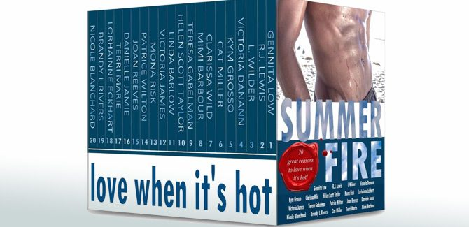 anthology contemporary romance ebooks Summer Fire: Love When It's Hot by Victoria Danann, etc
