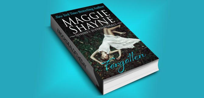 romantic suspense ebook FORGOTTEN by Maggie Shayne