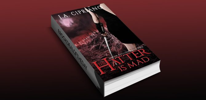 ya paranormal mystery ebook The Hatter is Mad: An Urban Fantasy Novel by J.A. Cipriano
