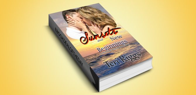 romance ebook Sunsets and New Beginnings (A Heaven's Beach Love Story Book 1) by Teri Riggs