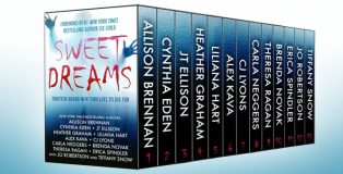 "suspense romance boxed set ""Sweet Dreams Boxed Set (Thirteen NEW Thrillers"" by Bestselling Authors"