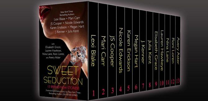 Sweet Seduction Boxed Set (Thirteen NEW Erotic Romances by Bestselling Authors to Benefit Diabetes Research plus BONUS book!)