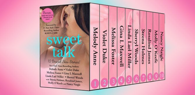 romance ebooksSweet Talk Boxed Set (Ten NEW Contemporary Romances by Bestselling Authors to Benefit Diabetes Research plus BONUS Novel) by Various Authors